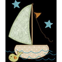 Barco  com estrelas 02