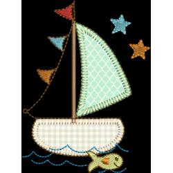 Barco com estrelas 03