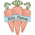 Cenoura Feliz Páscoa