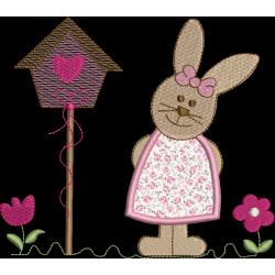 Coelha Casa Pássarinho