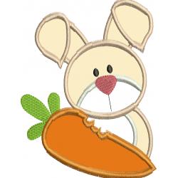 Coelho com cenoura roida