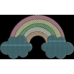 Unicórnio Arco Iris