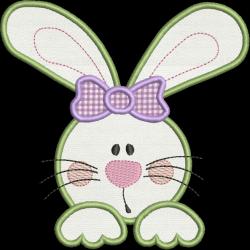 Coelha Laço Lilás